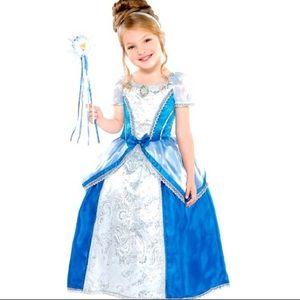 Deluxe Princess Cinderella complete dress set NIP